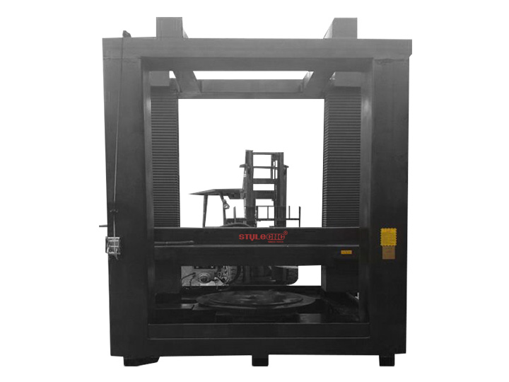 4 axis CNC stone carving machine for stone column, buddha, statues