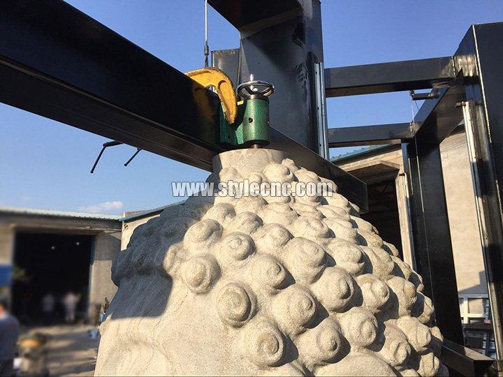 stone cnc carving machine rotary