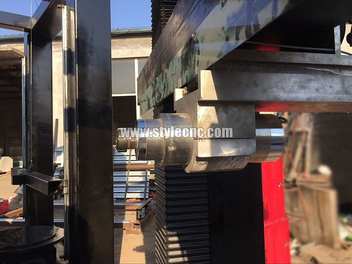 4 axis cnc stone carving machine spindle