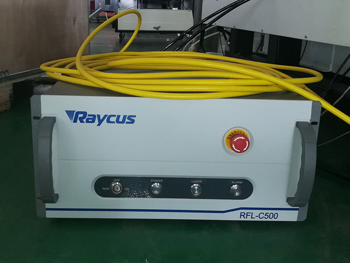 Stainless steel laser cutting machine with 1000w fiber laser