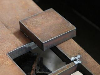 CNC plasma cutting for metal samples