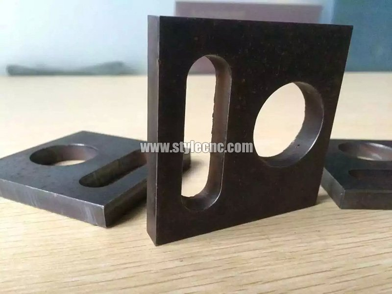 Metal cutting samples by plasma cutter
