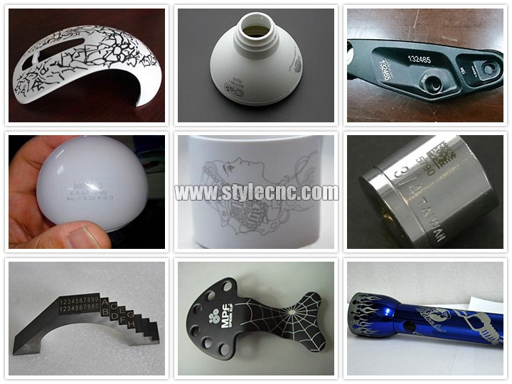 3D fiber laser marking machine projects