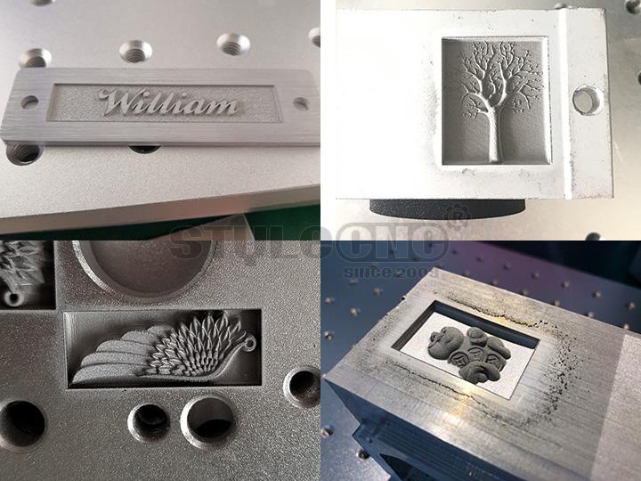 3D laser marking machine design