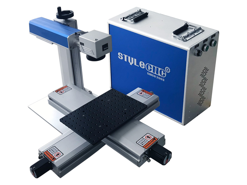 Small Fiber Laser Engraving Machine for Mobile & iPhone