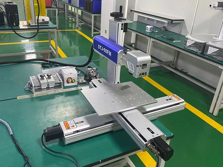 Iphone 7 IMEI laser engraving machine parts