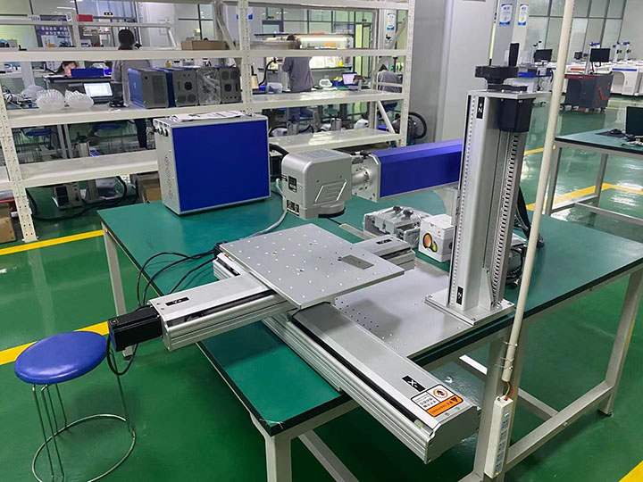 The Third Picture of Iphone 7 IMEI laser engraving machine
