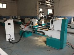 CNC Wood turning lathe STL1530-S is ready for delivery to Turkey