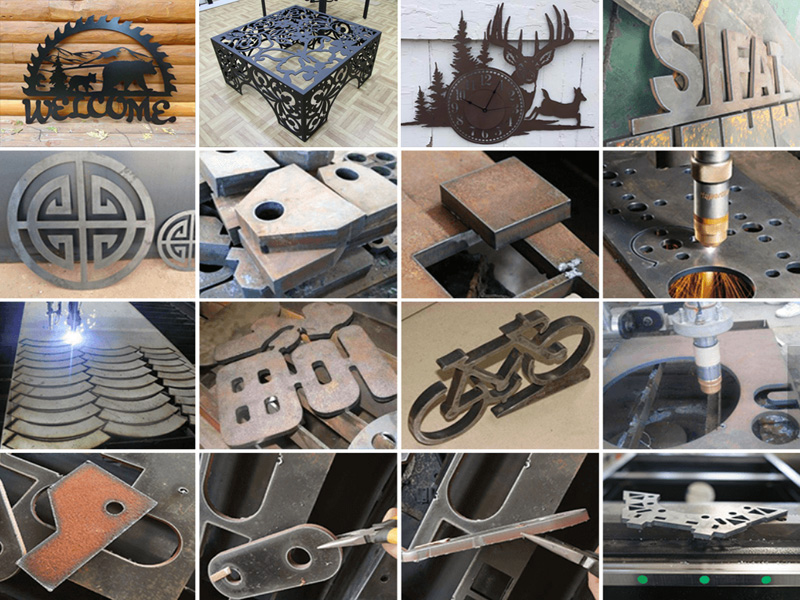CNC plasma cutting for aluminum, stainless steel