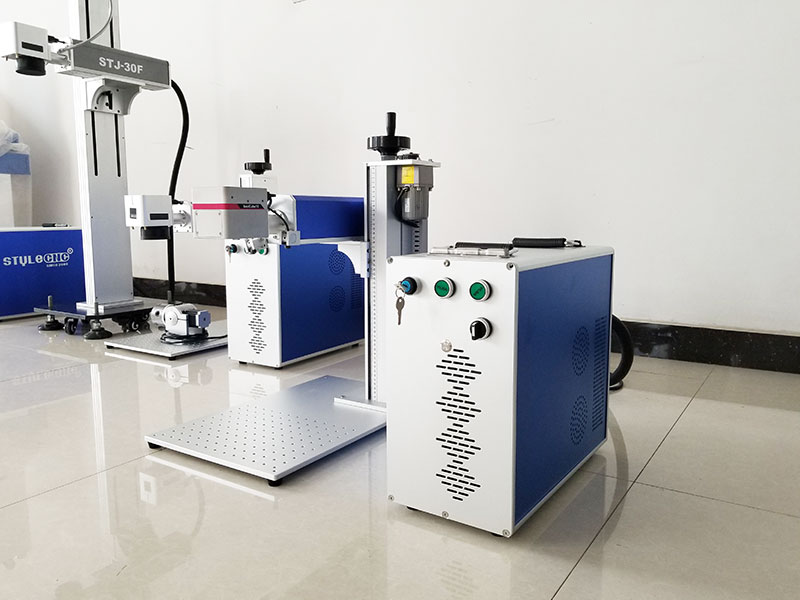 STYLECNC® 20w metal fiber laser marking machine for ss features1