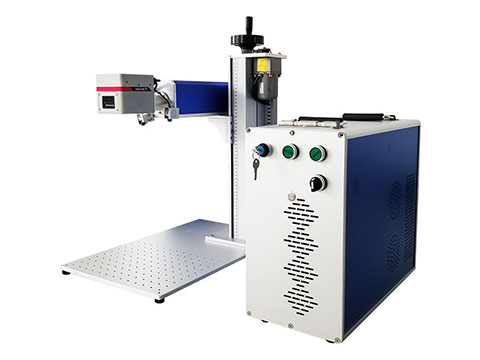 Metal fiber laser engraving machine