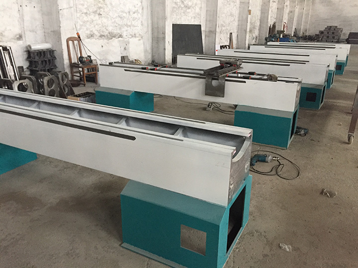 STYLECNC® CNC wood turning lathe machine for Stair handrail bed