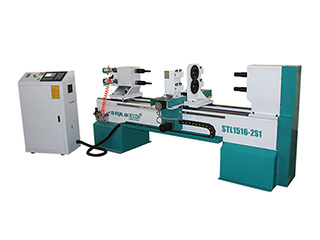 CNC Wood Turning Lathe Machine for Stair Handrail