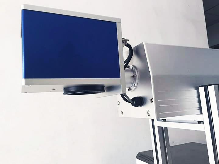 CO2 Laser Wood Marking Machine galvanometer
