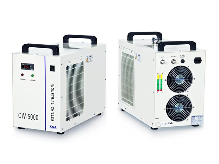 CO2 Laser Wood Marking Machine water chiller
