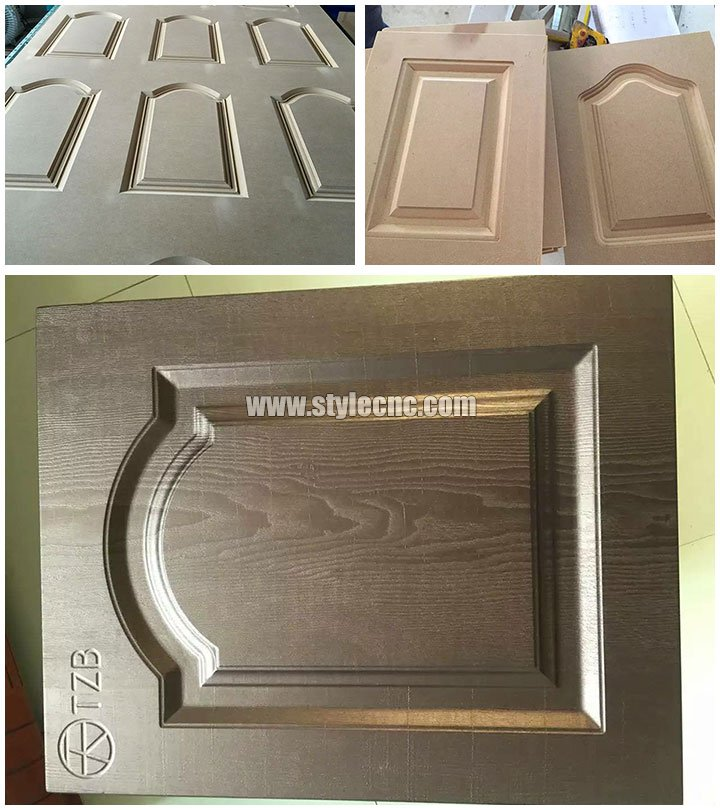 4 spindles simple atc CNC router machine sample2