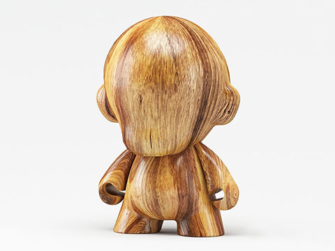 3D wood carving as arts/crafts