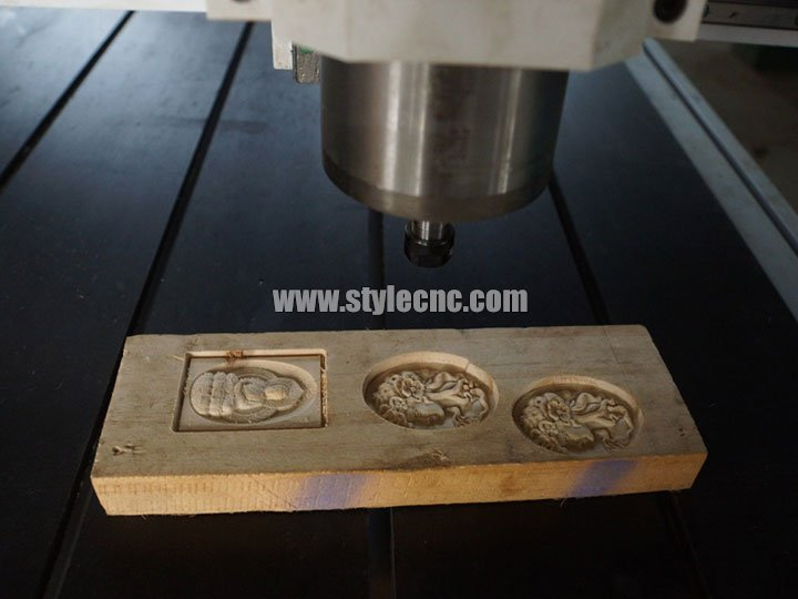 Desktop Small CNC Stone Carving Machine for Wood Carving