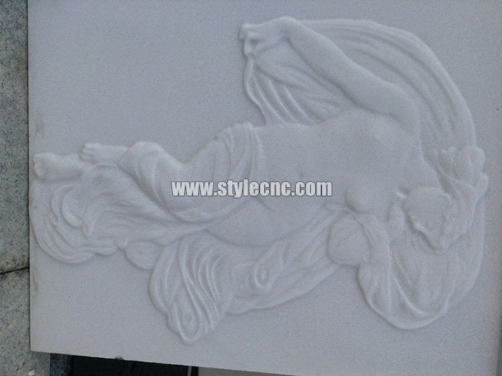 Desktop Small CNC Stone Carving Machine for Marble Carving