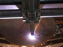 15mm carbon steel CNC plasma cutting video