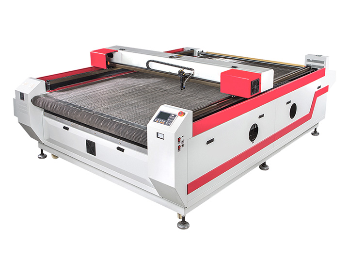Auto feeding CO2 laser cutting machine for cloth