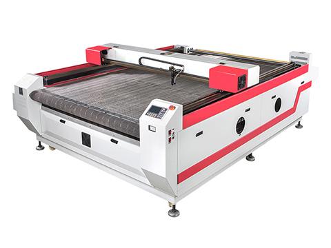 <b>Auto Feeding CO2 Cloth Laser Cutting Machine for sale</b>