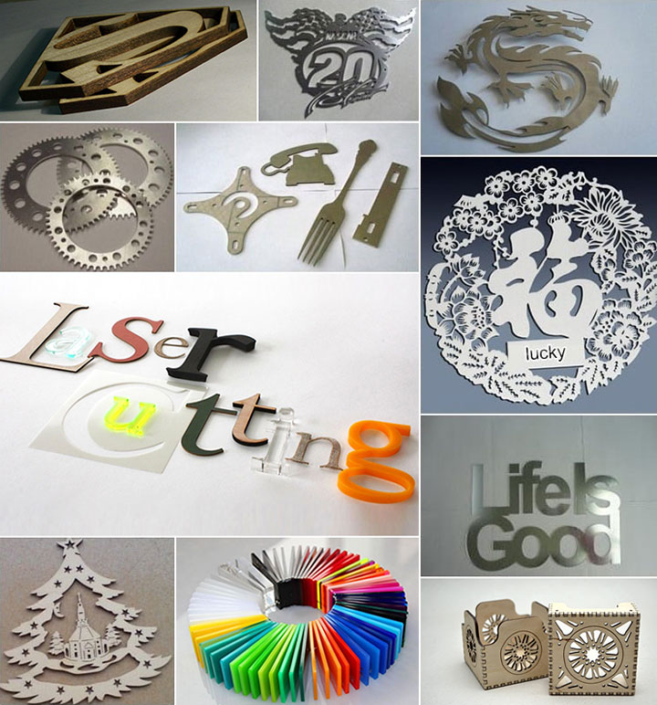 Laser Cutter for Metal and Nonmetal Projects