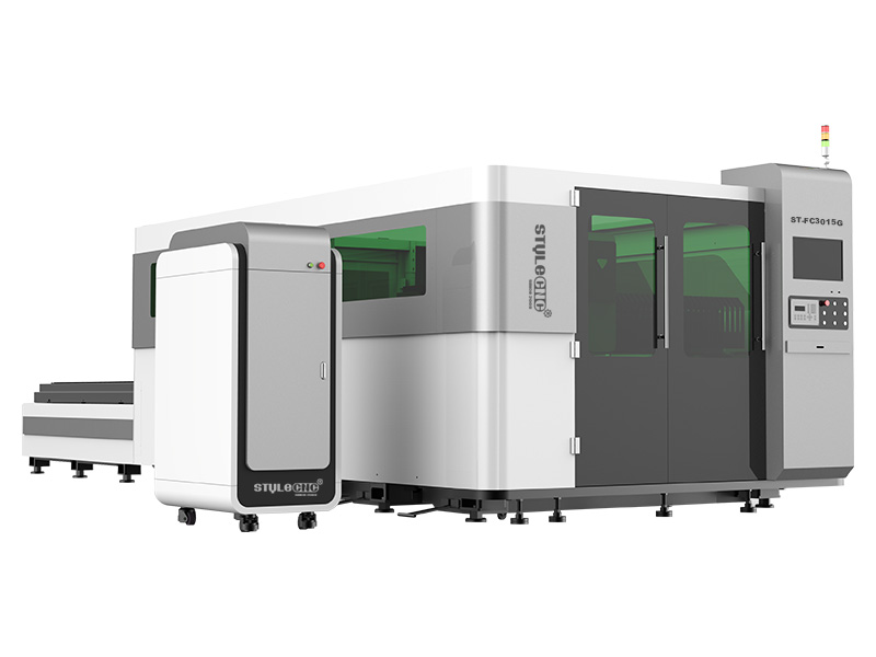 The First Picture of 1000W/2000W/3000W Fiber Laser Cutter for Metal Fabrication