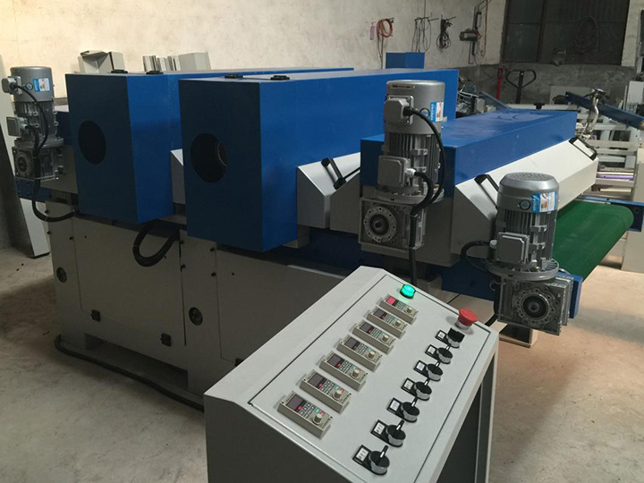 CNC wood sanding machine controller