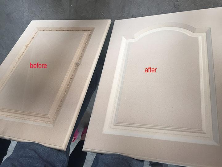 CNC Wood Sanding Samples