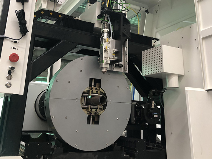 metal tube laser cutting head