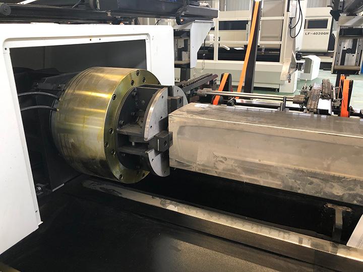 laser tube cutting machine rotary