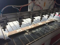8 spindles woodworking cnc router