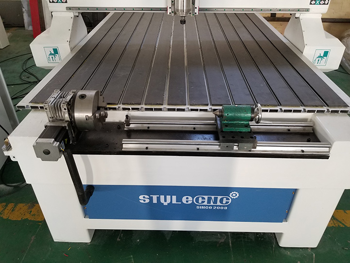 4th rotary axis for CNC router