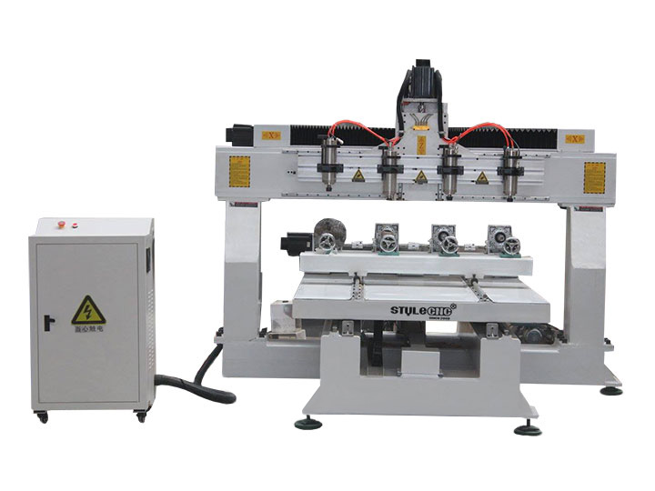 3D CNC Machine with 4x8 Table Size for Sale