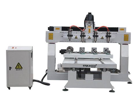 STYLECNC® 3D CNC router machine 1325 with 4 axis rotary
