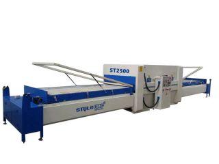 PVC membrane press machine for wooden doors
