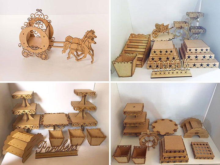 MDF crafts laser cutting machine