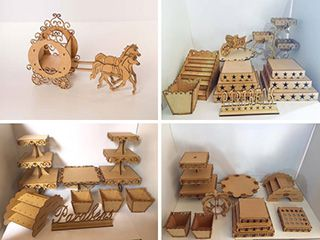 MDF crafts laser cutting machine projects