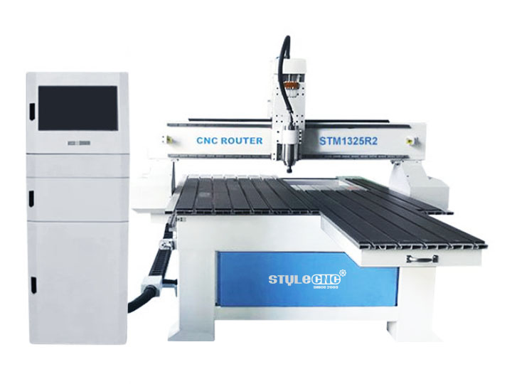 CNC router machine with 4 axis rotary
