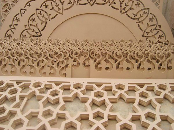 2D cutting by CNC router