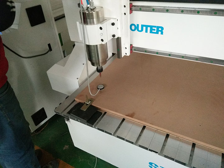 How tool sensor works for CNC router machine