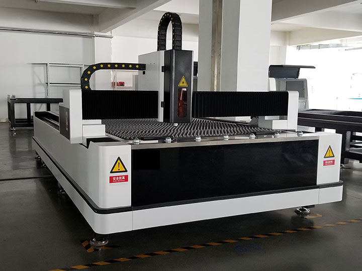 500W fiber laser cutting machine is ready to be delivered to Saudi Arabia
