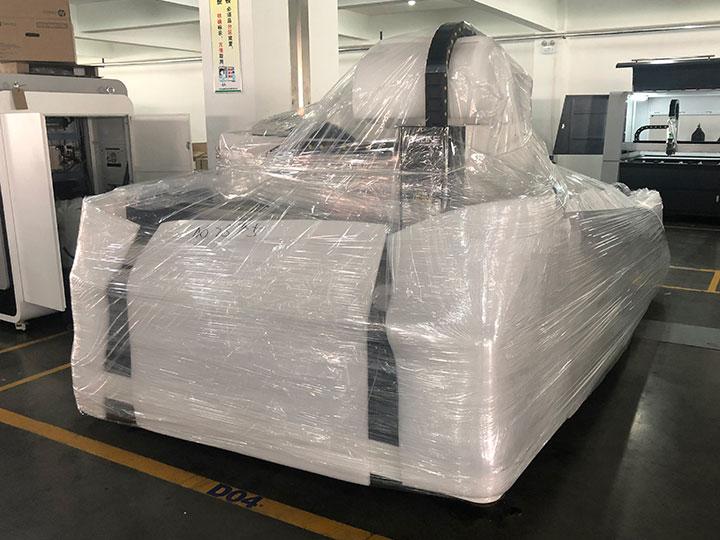 500W fiber laser cutting machine package