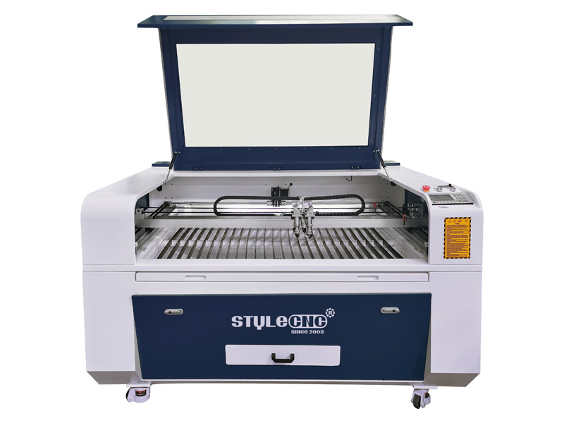 Stylecnc 174 Double Heads Laser Engraver 1390 For Acrylic