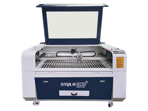 STYLECNC® Double Heads Laser Engraver 1390 for acrylic, leather and paper