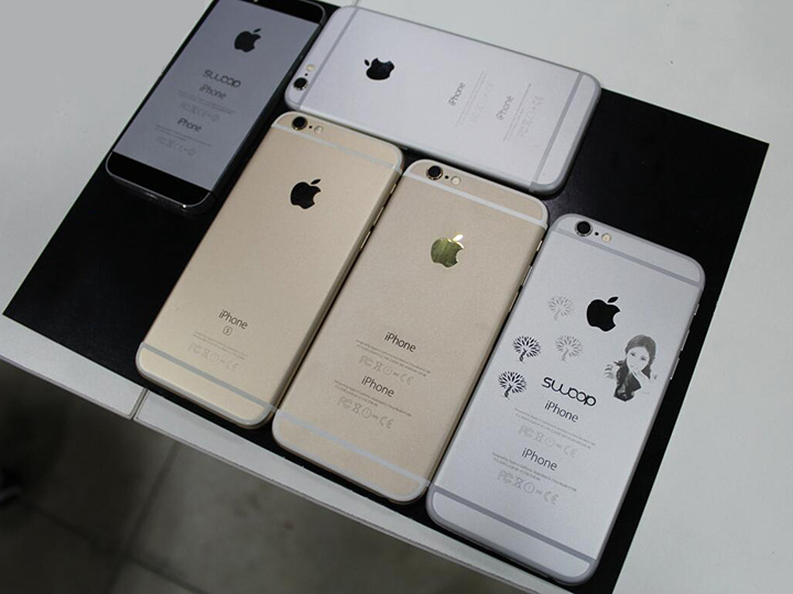 Fiber laser engraving for iPhone shell and case
