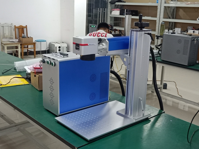 Fiber laser marking machine details