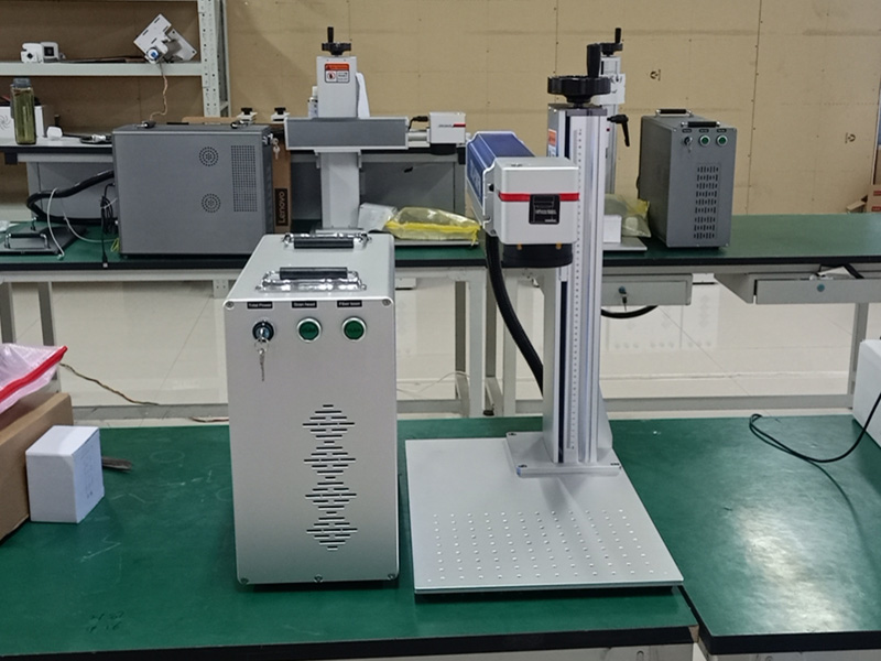 Two-dimension table for color fiber laser engraving machine