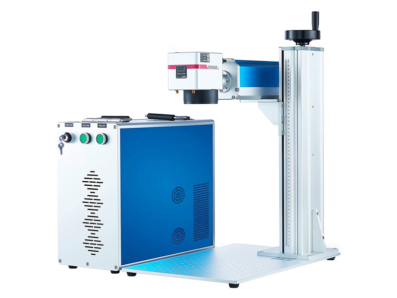 Color fiber laser engraving machine